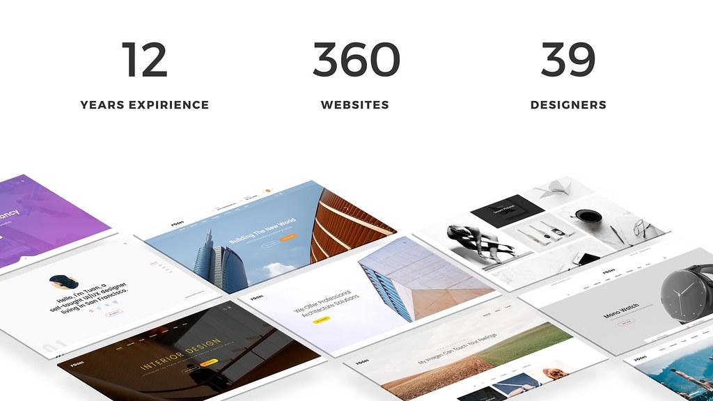 Creative Agency // Website Presentation - 3