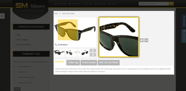 SM Glasses Responsive Magento Theme - 9