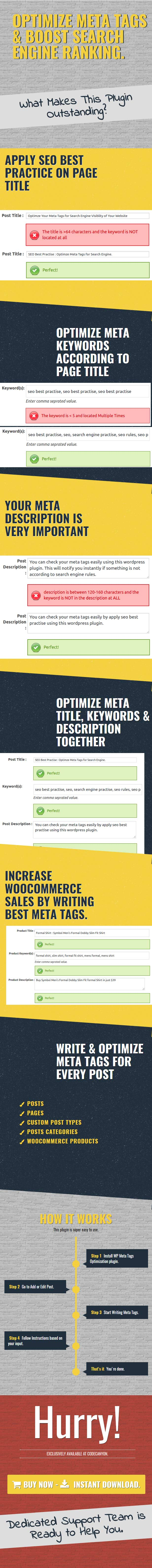 Meta Tags Optimization WordPress Plugin