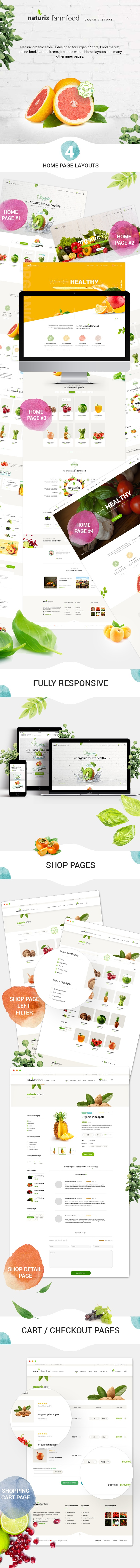 Naturix - Organic Store Woocommerce Theme with Drag n Drop Page Builder - 2