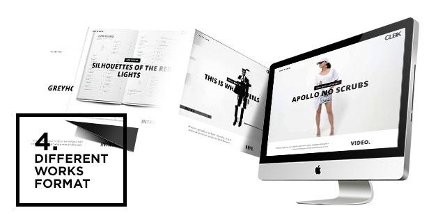 CLBK - Responsive One Page Portfolio Theme - 2