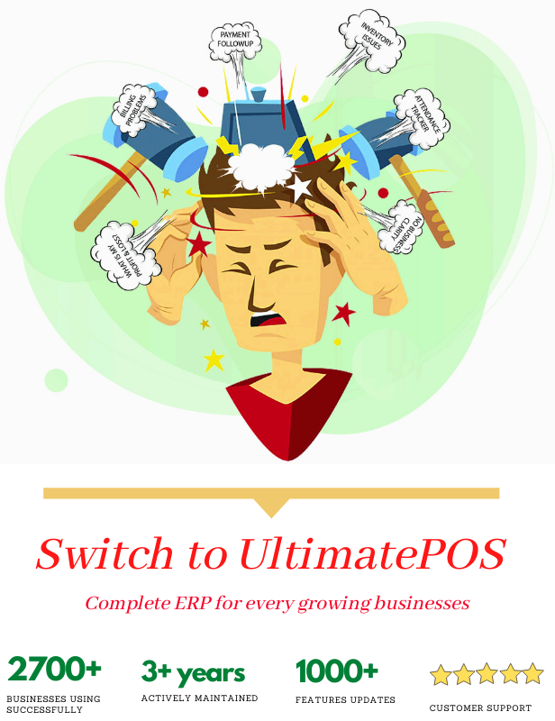 Ultimate POS - Best Advanced Stock Management, Point of Sale & Invoicing application - 2