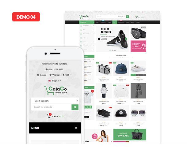 VG Calaco - Clothing and Fashion WordPress Theme - 22