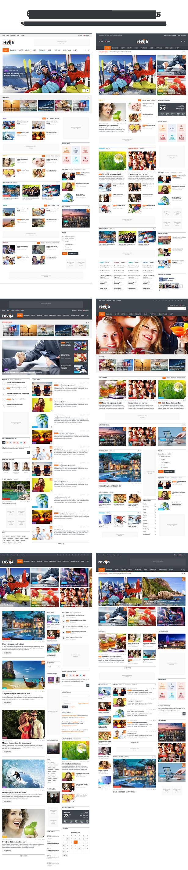 Revija - Premium Blog/Magazine HTML Template - 4