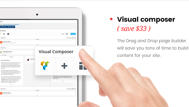 strollik single product-wordpress visual composer