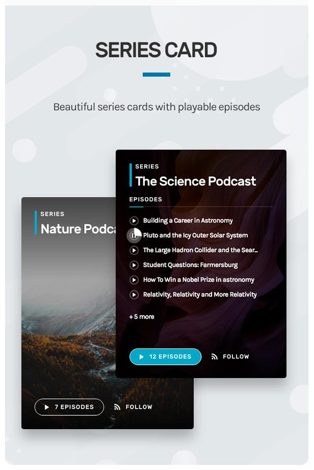 Wpcast - Audio Podcast WordPress Theme - 8