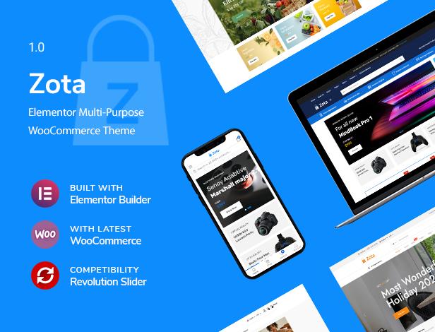 Zota - Elementor Multi-Purpose WooCommerce Theme - 6