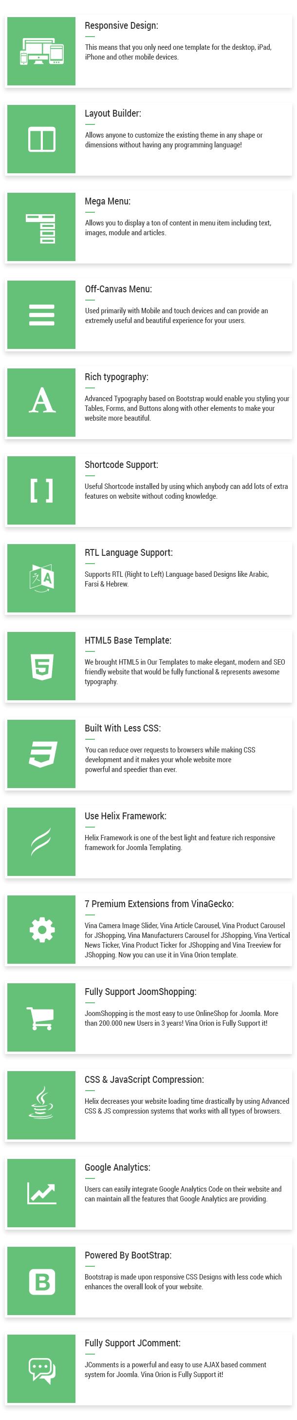 Orion :: Businesses & e-Commerce Joomla Template - 23