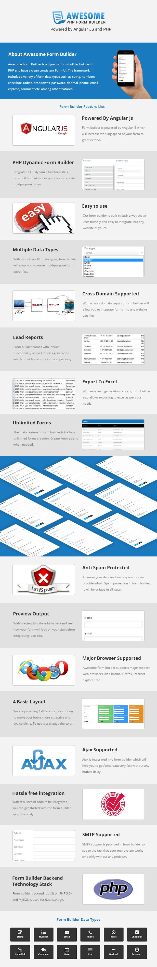 PHP JS Form Oluşturucusu