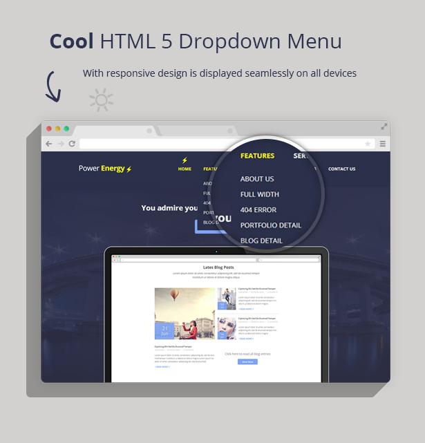 Power Energy - Responsive Multipurpose HTML 5 - 2