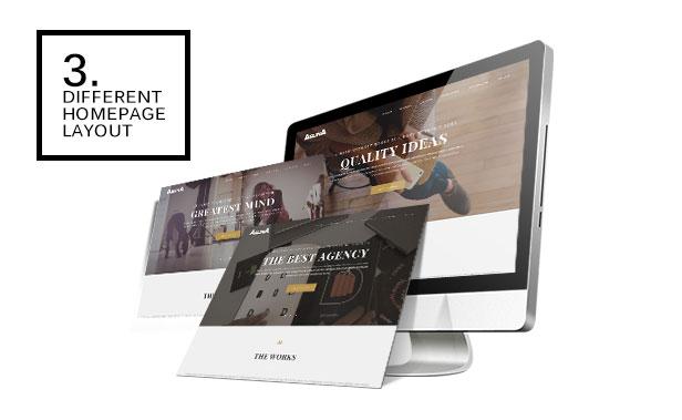 Aslina - Responsive One Page Portfolio Theme - 1