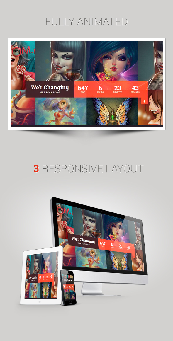 Float - Responsive Under Constraction Template - 1