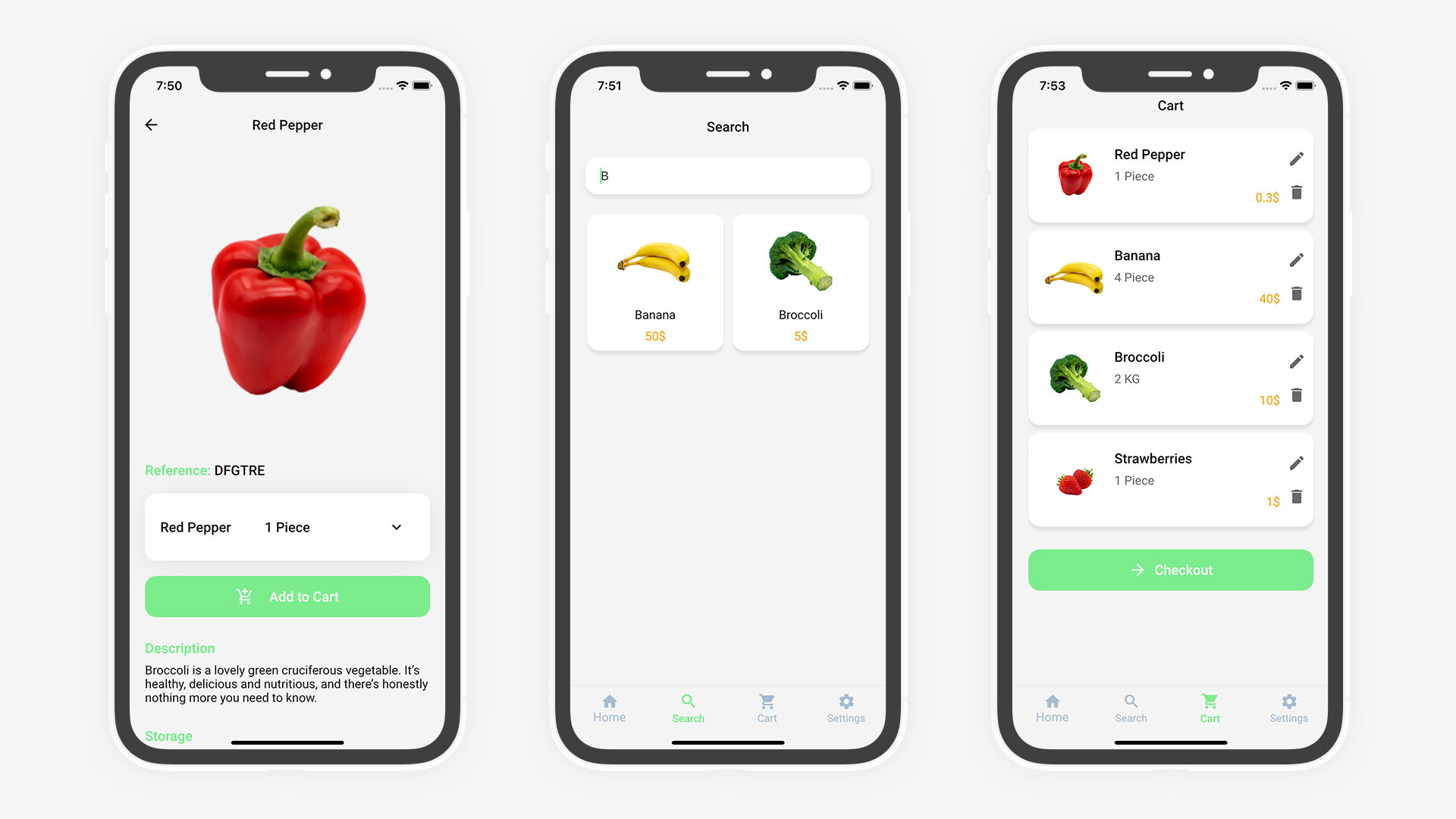 Flutter Grocery: Full Android + iOS eCommerce App - 15