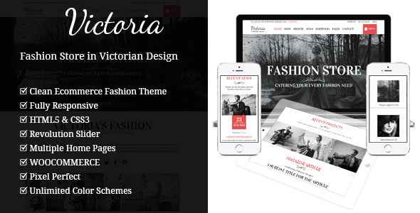 Teresa A One And Multi Page Fashion Theme By Gljivec Themeforest