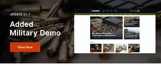Military Blog Homepage
