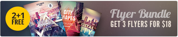 City Party Flyer Bundle Vol.04