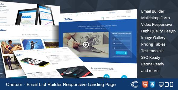 University Responsive Bootstrap Landing Template - 5