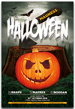 Halloween Party Flyer - 15