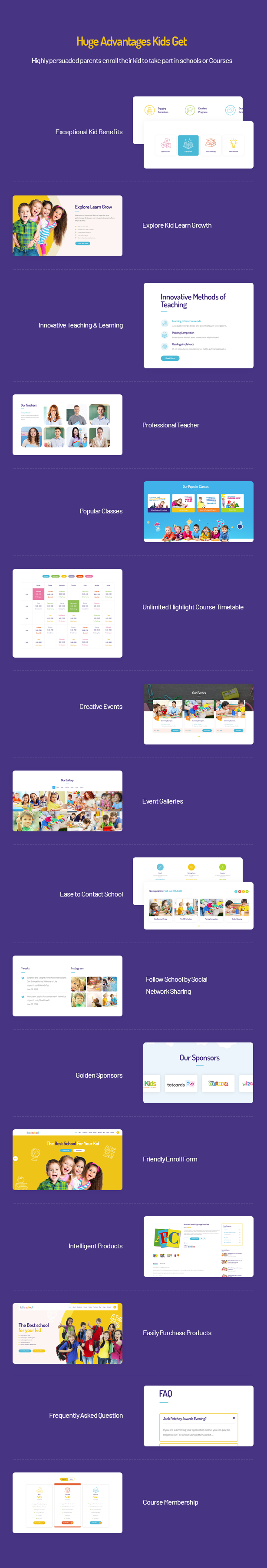 Ibble Education WordPress Theme with Huge Advantages for Kids