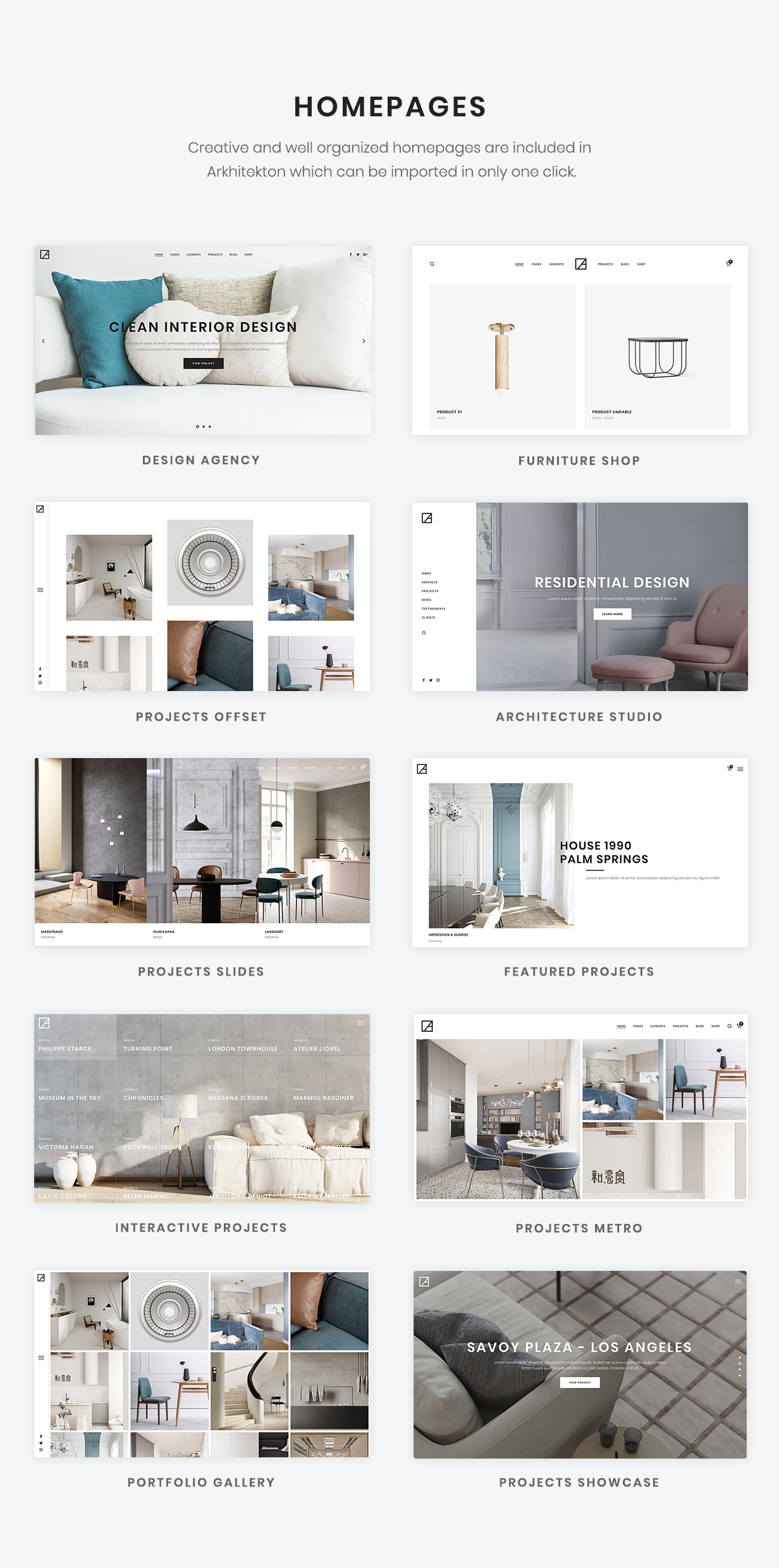 Arkhitekton Modern Architecture And Interior Design Wordpress Theme By Neuronthemes