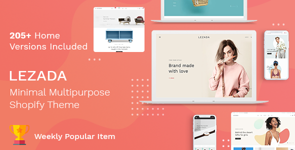 Lezada - Multipurpose Shopify Theme - Fashion Shopify