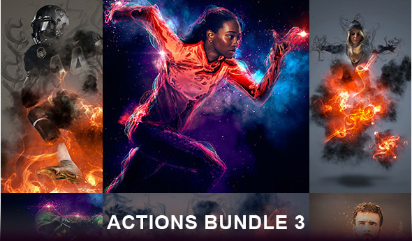 Photoshop actions bundle 3