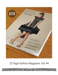 Fashion Magazine #5 - 6
