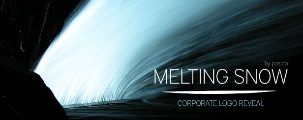 Melting Snow Corporate Logo - AudioJungle