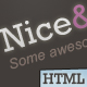 Nice & Clean, Portfolio|Blog Layout  - ThemeForest Item for Sale