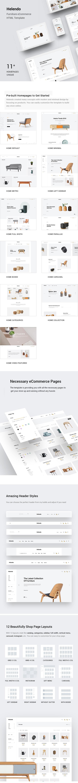Helendo - Furniture eCommerce HTML Template - 1