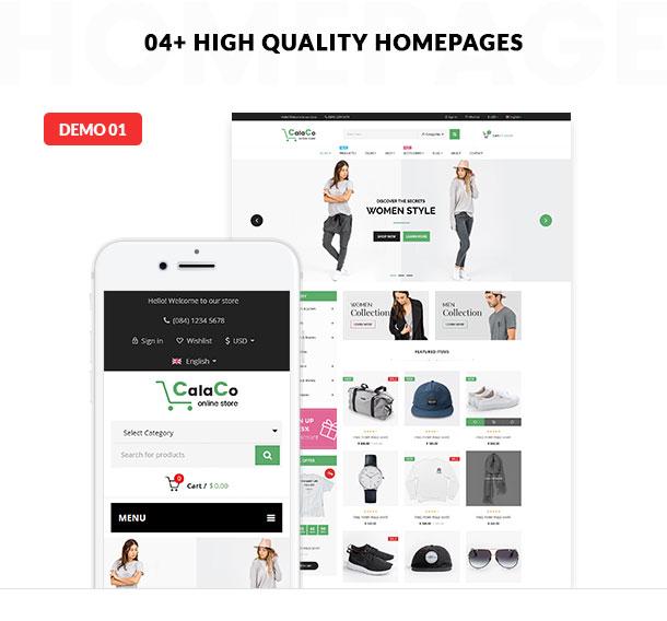 VG Calaco - Clothing and Fashion WordPress Theme - 16