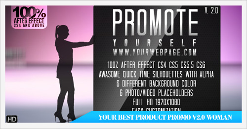 Your Best Product Promo v2.0 Woman