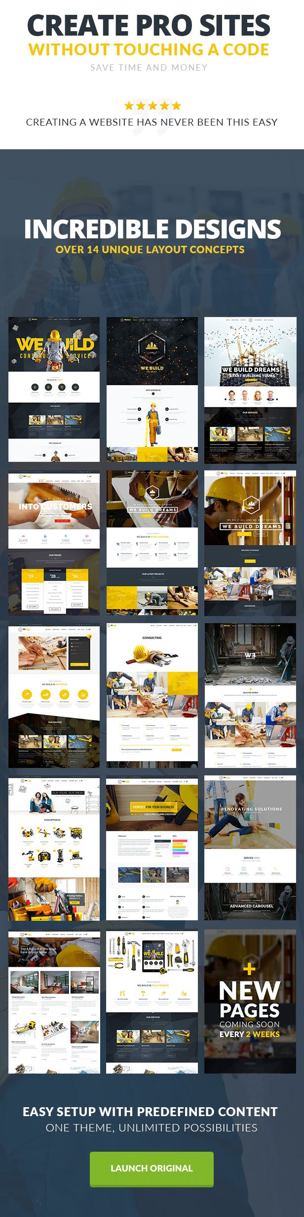 We Build - Construction WordPress Theme - 2