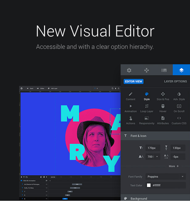New Visual Editor