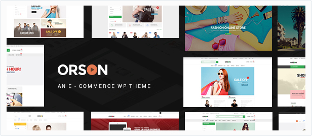 Orson - Shop WordPress WooCommerce Theme