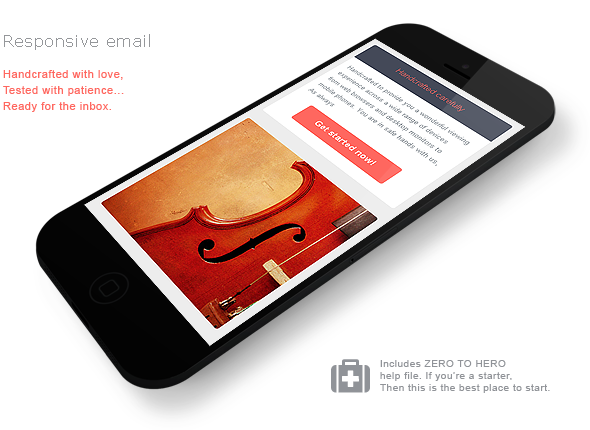 Responsiveur Responsive Email Newsletter Templates - 7