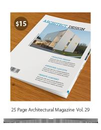 25 Pages Architecture Magazine Vol39 - 4