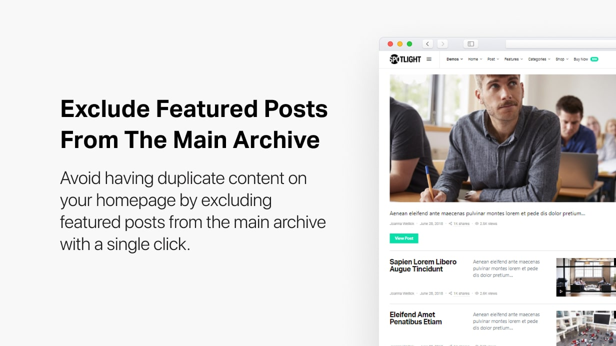 Spotlight - Feature-Packed News & Magazine WordPress Theme - 20