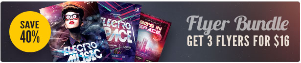 Party Flyer Bundle Vol19