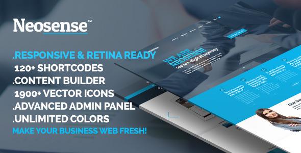 Neosense - Fresh Corporate Creative Template - 1