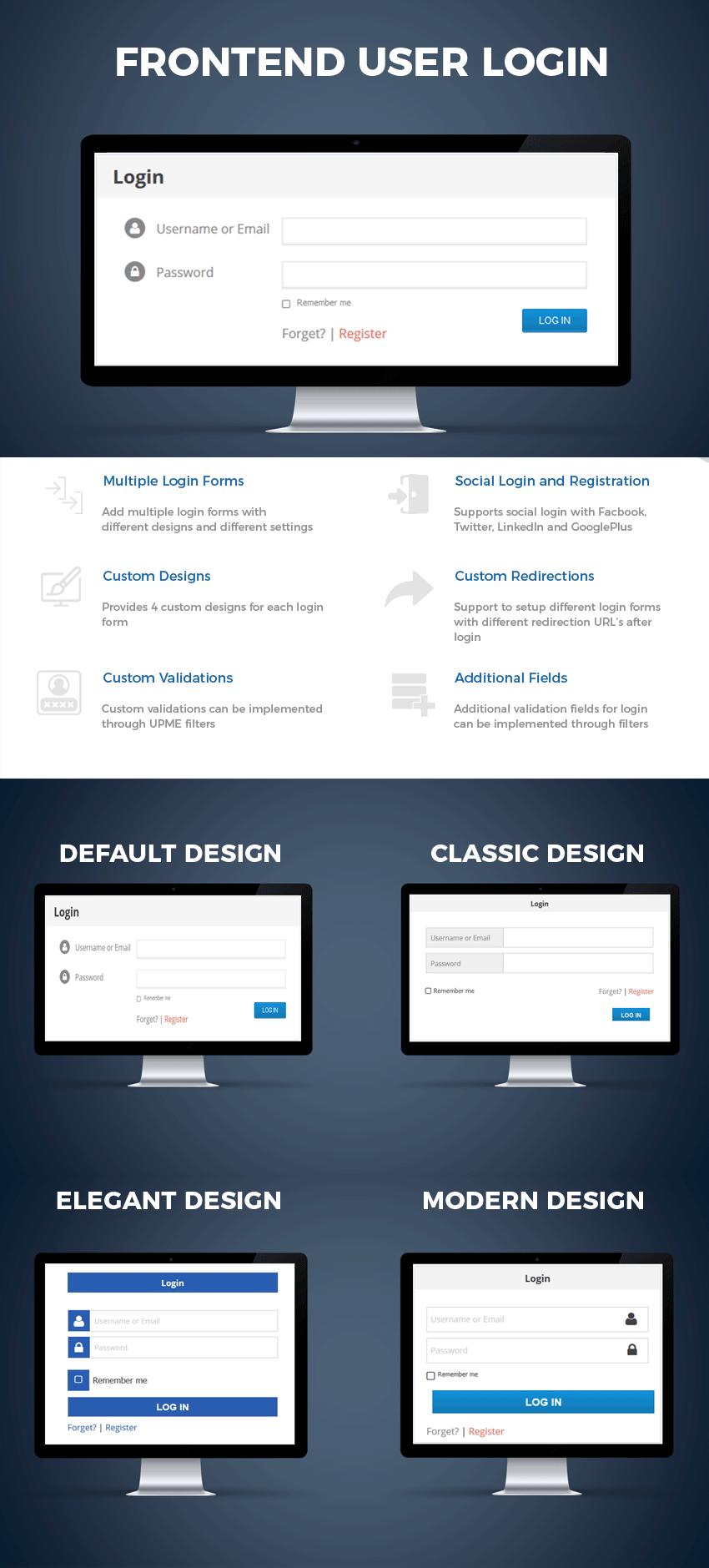 User Profiles Made Easy - WordPress Plugin - 19