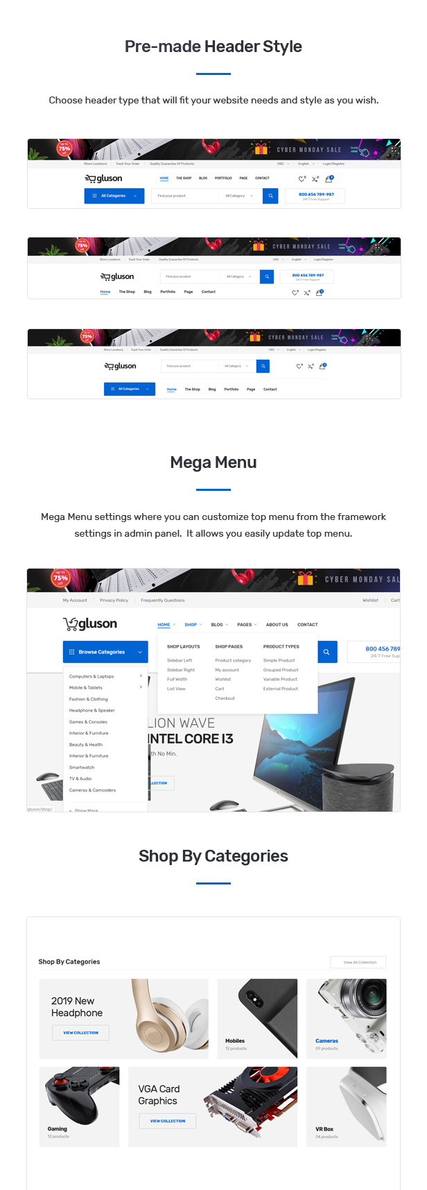 Gluson - Digital Theme for WooCommerce WordPress 26
