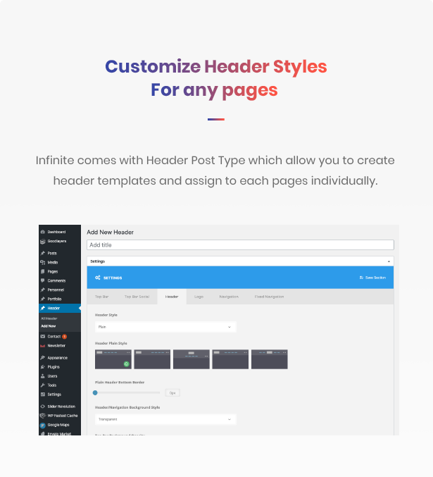 Infinite - Multipurpose WordPress Theme - 7