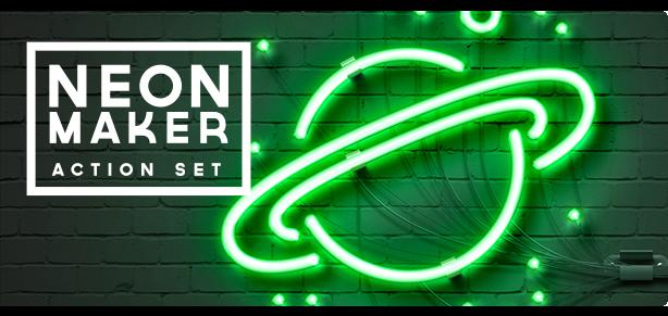 Neon Maker Action Set