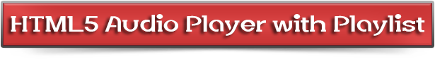 HTML5 Audio Player with Playlist for Wordpress - 9