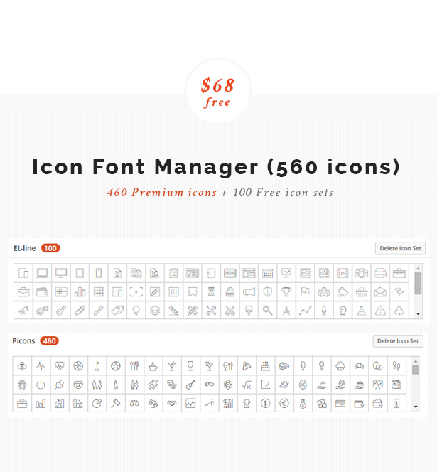 Icon Font Manager
