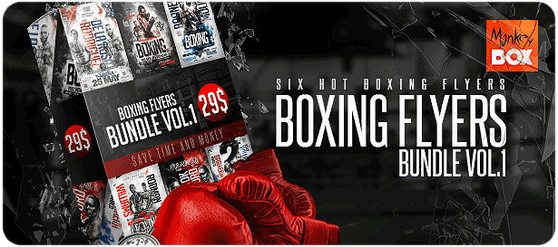 Boxing Flyer Template - 3