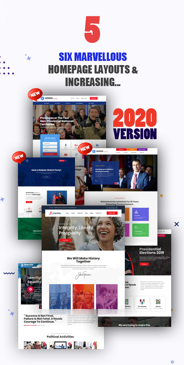 Actavista - A Responsive Political WordPress Theme For Politicians and Organizations - 7