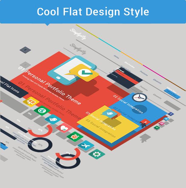 Simplicity - Creative Flat Retina Theme - 3