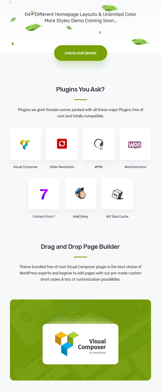 Konado - Organic Theme for WooCommerce WordPress 24